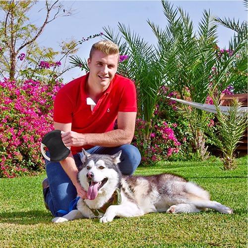 frisbee para perro modelo laika