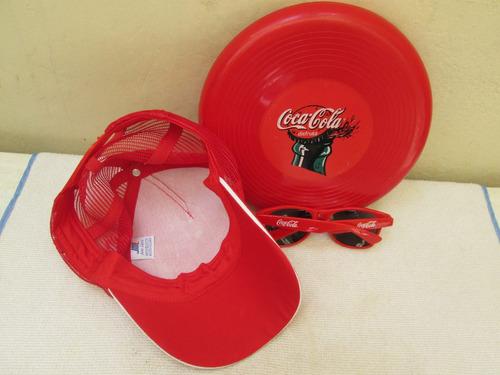 frisby lentes de sol gorra de cocacola envio incluido gratis