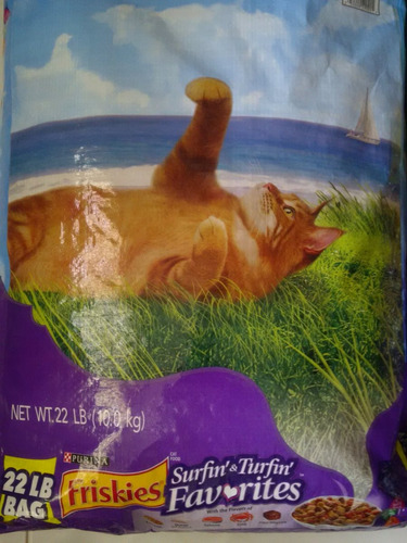 friskies para gatos por  kilo
