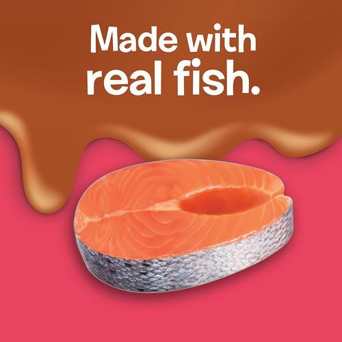 friskies purina pate salsa extra con salmón en salsa savory