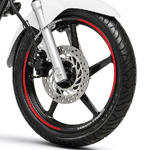 Aparador Y Vitrina Clasico ~ Friso + Adesivo Inte M1 Roda Refletivo Moto Yamaha Fazer 250 R$ 120,48 em Mercado Livre