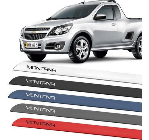 friso adesivo lateral montana 2012 2013 2014 2015 2016 2017 2018 2019 2020 cor original carro
