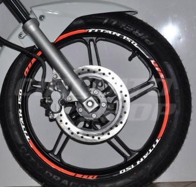 friso adesivo refletivo personalizado moto honda titan 150