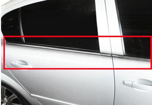 friso cromado pestana base janelas vectra 06 07 08 09 10 11