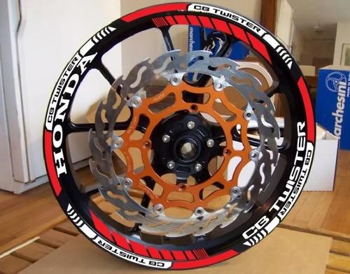friso de rodas cb twister 250f
