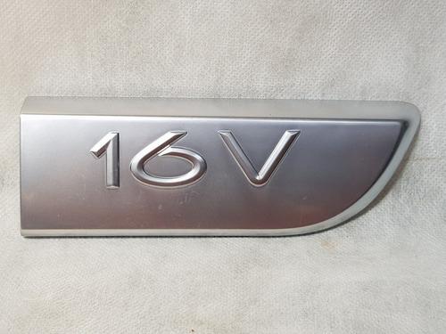 friso emblema 16v porta dianteira direita megane 2002 diante