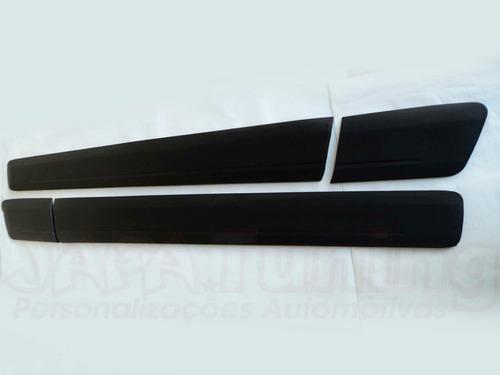 friso lateral borrachao sem escrita saveiro g5 g6 cross 09/
