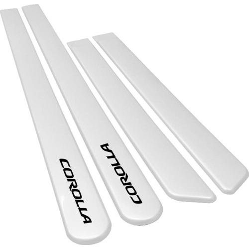 friso lateral corolla 08 a 15 04 portas branco pérola