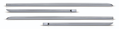 friso lateral cromado fiat cronos 2018 modelo original 4 pçs