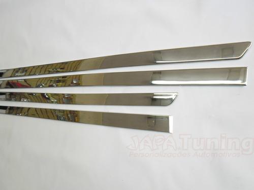 friso lateral cromado palio 4 portas 96 97 99 00 2016