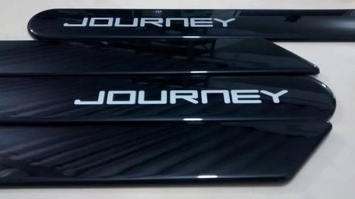 friso lateral dodge journey preto cor original