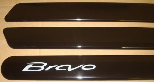 friso lateral fiat bravo cinza cor original