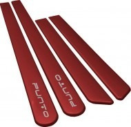 friso lateral fiat punto vermelho cor original