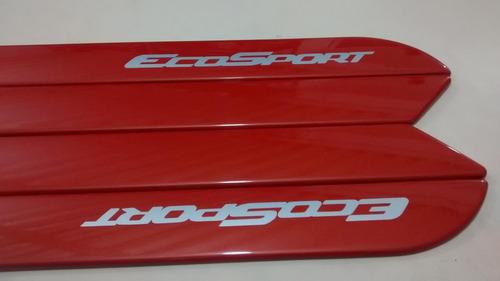 friso lateral ford ecosport laranja cor original