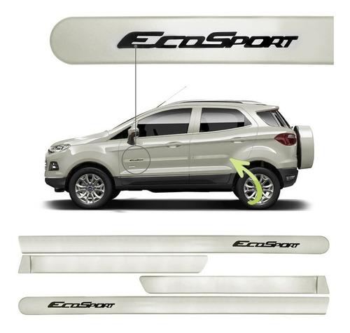 friso lateral ford ecosport prata dublim cor original