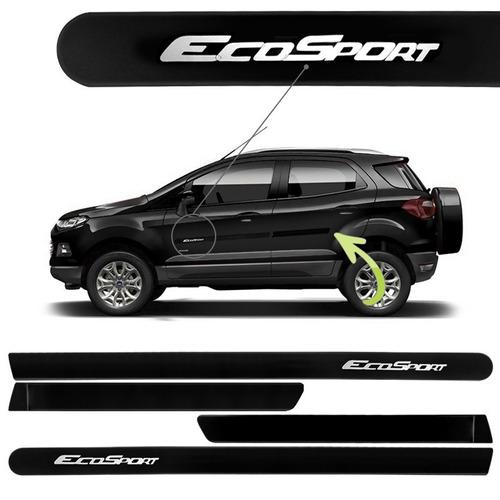 friso lateral ford ecosport preto cor original