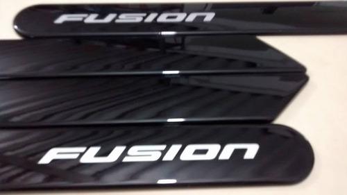 friso lateral ford novo fusion preto bristol cor  original