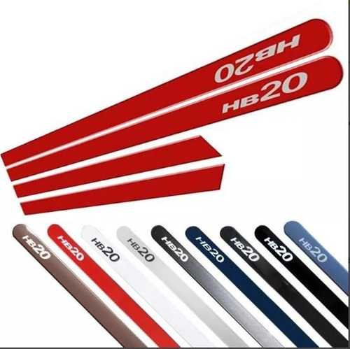 friso lateral hb20 2016 2017 2018 2019 todas cores originais