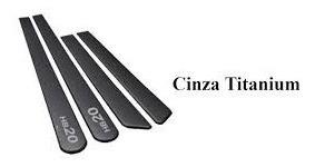 friso lateral hyundai hb20 sedan cinza titanium cor origina