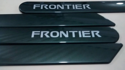 friso lateral nissan frontier verde army cor original