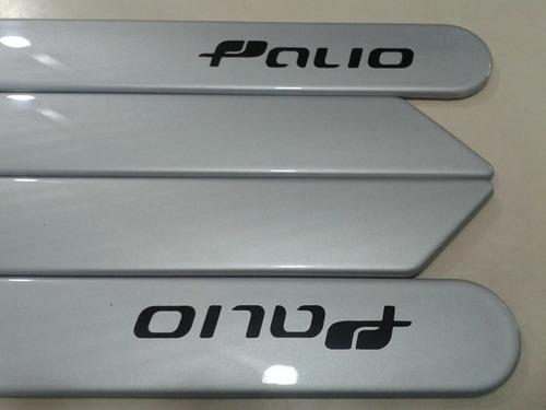 friso lateral novo fiat palio prata original