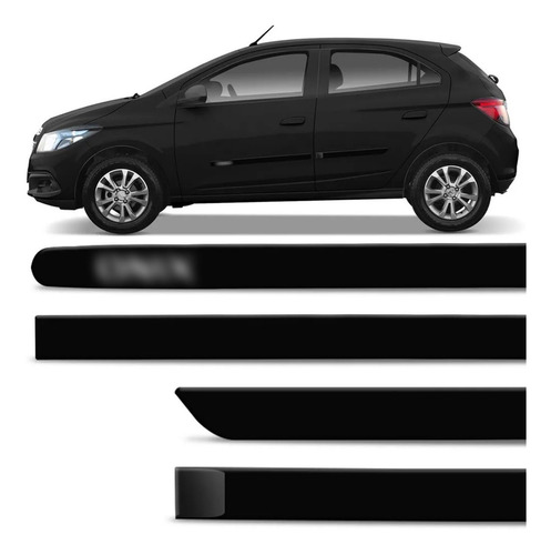 friso lateral onix 2012 2013 2014 a 2019 preto global 4 pts