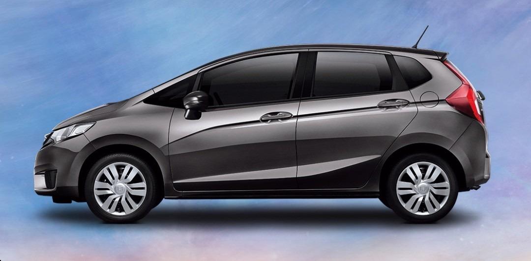 Friso Lateral Personalizado Honda Fit 2015 Cinza