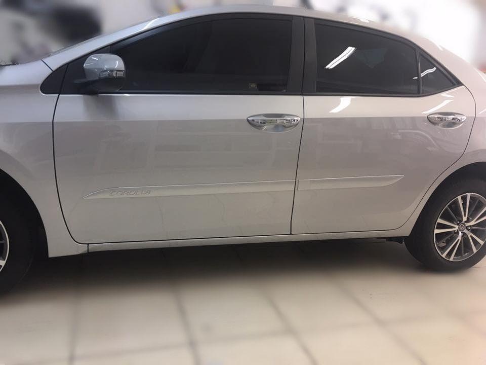 Toyota Corolla Parts >> Friso Lateral Toyota Corolla 2017 2018 - Baixo Relevo - R ...