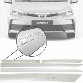 Friso Lateral Toyota Corolla 2018 2019 - Baixo Relevo Orig.