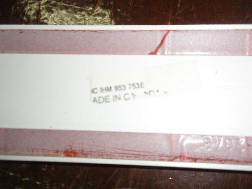 friso porta  traseira esquerdo golf 4 portas 94a98 pintura