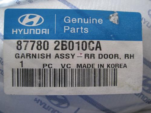 friso porta traseira santa fé 2008 09 2010 le original
