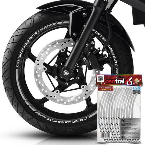 friso premium roda kasinski crz 150 super moto refletivo pra