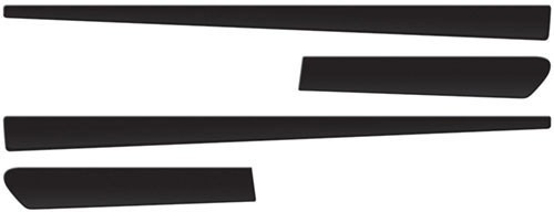friso preto lateral palio 97 99 00 10 15 fire 2 ou 4 portas