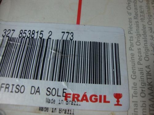 friso soleira porta santana tras esq 94/95 a 99 original vw