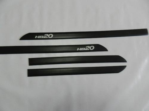 frisos laterais hb20 com nome gravad
