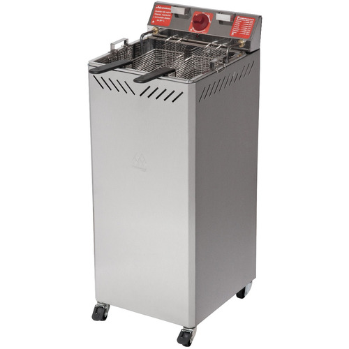 fritaddeira elétrico 5000 wt industrial 25 l água óleo 220 v