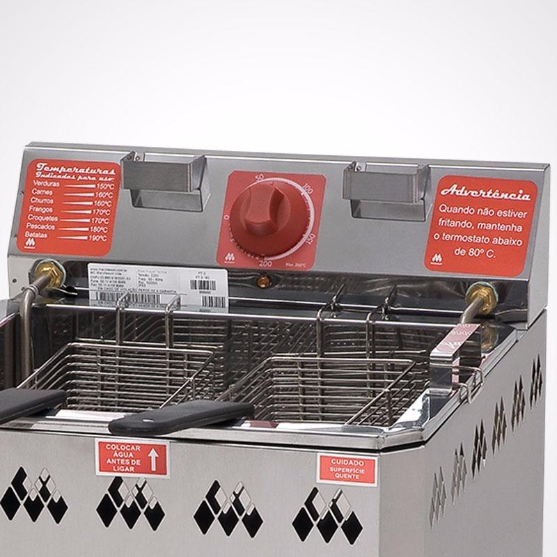29b6f2ea7 fritadeira água e óleo elétrica de 18 litros 220v 2 cestos. Carregando zoom.
