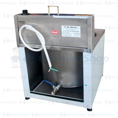 fritadeira elétrica 24 litros redonda italinox faoi24 mesa *