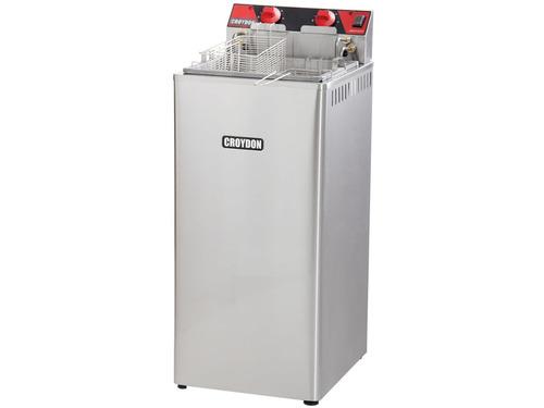 fritadeira elétrica croydon 8000w 18 litros usa menos óleo