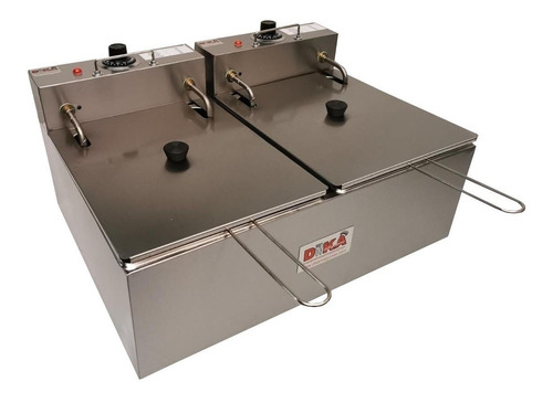 fritadeira elétrica dupla profissional 12 lts salgado batata
