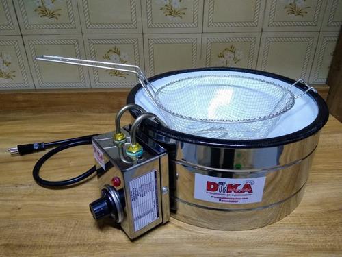 fritadeira elétrica frita muito rápido 1 cuba 3 litros profi