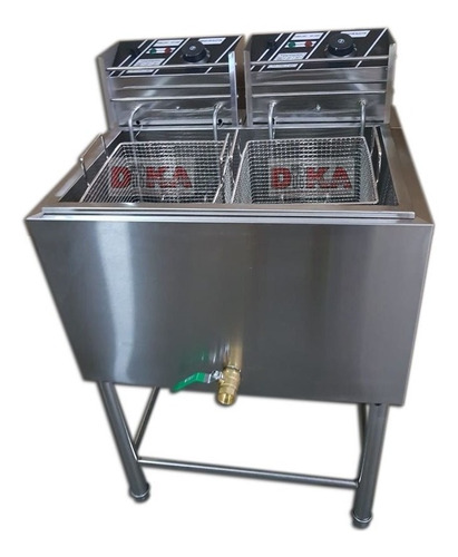 fritadeira elétrica industrial 4 cestos frituras rápidas