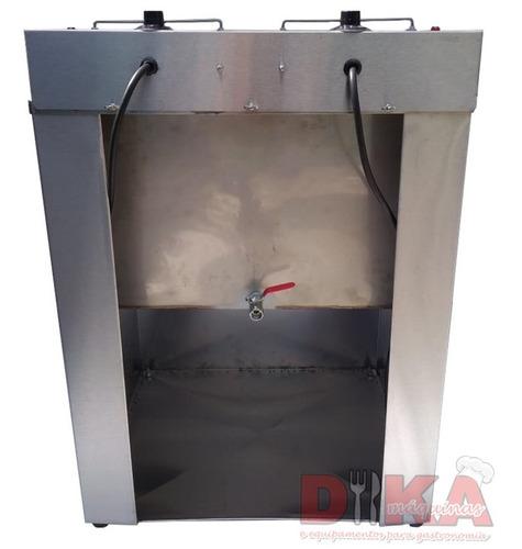 fritadeira elétrica industrial água e óleo potência 10000w