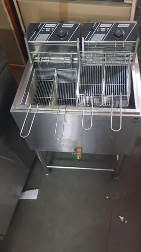 fritadeira elétrica industrial água e óleo suer potência 220