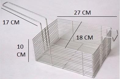 fritadeira elétrica industrial fritania 5litros 1cuba 110v