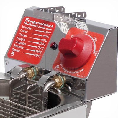 fritadeira elétrica profissional 12 l marchesoni ft.1.62-