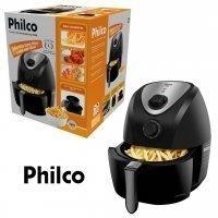 fritadeira elétrica sem óleo 3,2 litros philco air fry saúde