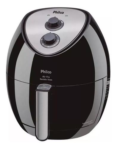 fritadeira sem óleo philco airfry saúde inox 3l 110v