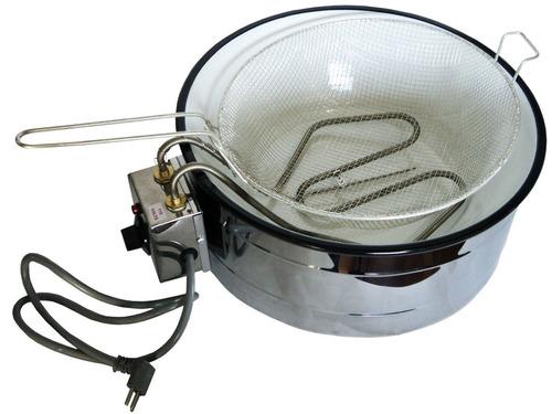 fritadeira tacho elétrico 3 litros gold com regulador  110v