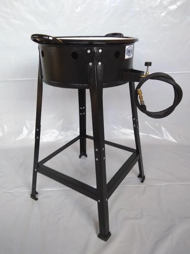 fritador fogão pasteleiro a gás com tacho nº14 pastel*!!